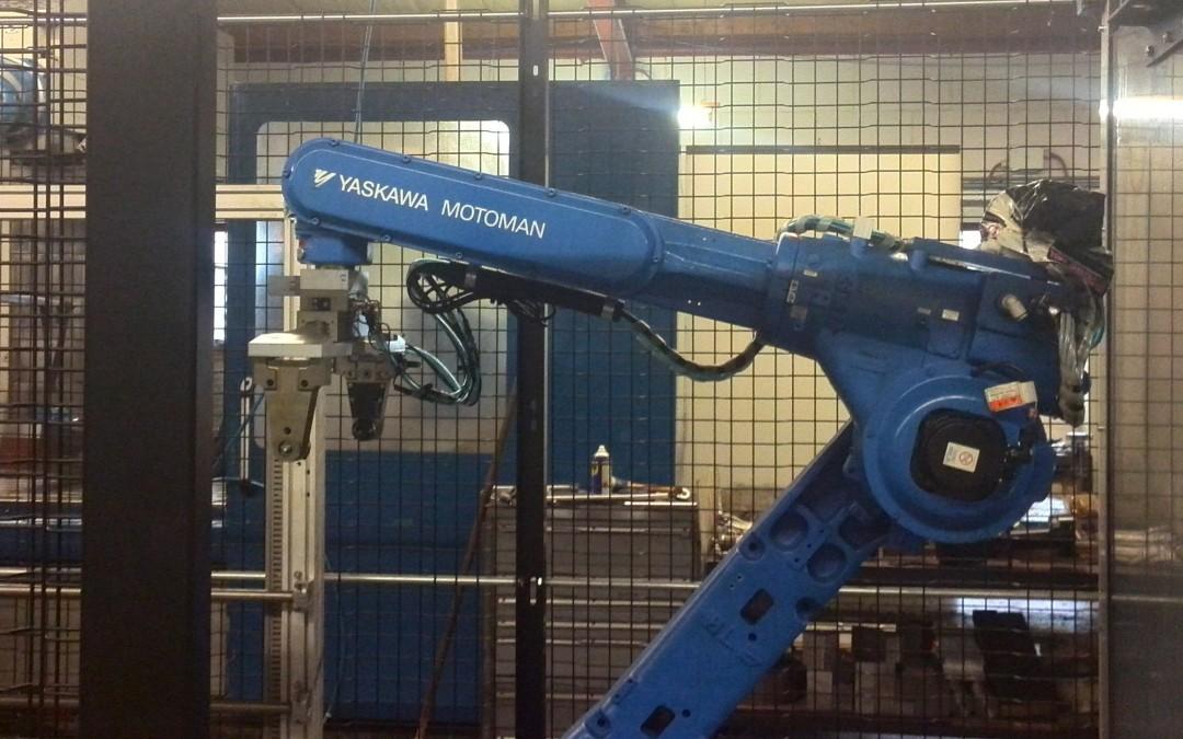 Onze nieuwe robot