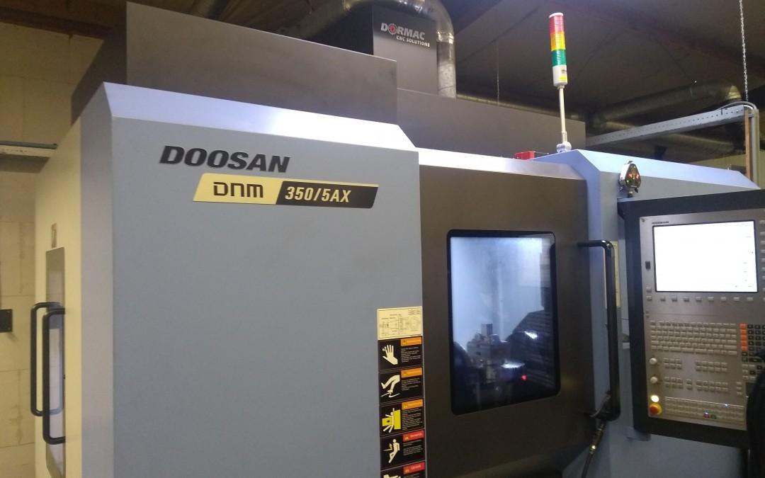 CPJ is vanaf nu in het bezit van een Doosan DNM 350/5AX
